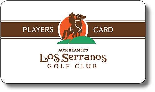 Los Serranos Players Card Program